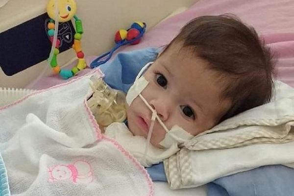 'Ame Miguel': Morre em Campina Grande bebê que lutava contra doença degenerativa