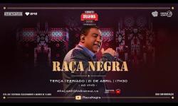 ASSISTA live Raça Negra e Amigos em Casa; ao vivo