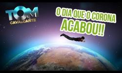 """'O dia em que o Corona acabou': Tom Cavalcante """"ressuscita"""" Raul Seixas em paródia sobre o coronavírus -VEJA VÍDEO"""