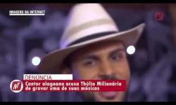 Vídeo: Cantor 'beijoqueiro' é acusado de gravar música sem permissão do compositor