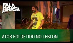 VÍDEO: Ator Thiago Lacerda é detido com maconha em blitz policial no Rio de Janeiro