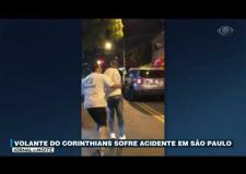 VÍDEO: Ralf, jogador do Corinthians, se envolve em acidente e invade casa com carro em São Paulo