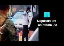 Veja o momento em que o sequestrador do ônibus na ponte Rio-Niterói é abatido pelo sniper