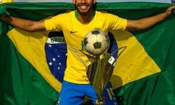 Paraibano é campeão e artilheiro do Torneio de Toulon com a Seleção Brasileira Sub 23