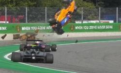 VÍDEO: Piloto sai andando após acidente assustador na F3