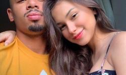 Gabriel Jesus publica primeira foto com namorada, e ela se declara