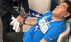 Filhas de Maradona querem internar ex-jogador após vídeo em que craque aparece bêbado: ASSISTA