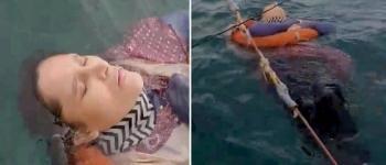 Mulher desaparecida por dois anos é achada viva boiando no mar