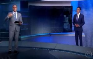 'Estamos esgrimando com loucos', desabafa William Bonner no JN sobre fake news