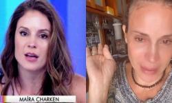 """Ex-apresentadora do 'Video Show' chora e relata problemas financeiros: """"Ninguém me contrata"""""""