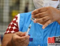 João Pessoa segue aplicando 2ª dose das vacinas Coronavac e AstraZeneca