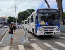 Frota de ônibus coletivo de JP circula com quadro especial no Dia do Comerciário