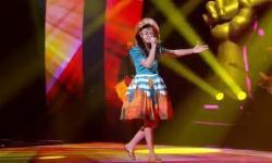 Público escolhe e paraibana Heloísa do Pandeiro disputa final do 'The Voice Kids'