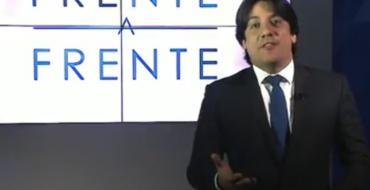 VÍDEO: Luís Tôrres assume o programa 'Frente a Frente' da TV Arapuan