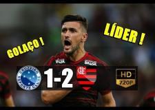 ASSISTA: Flamengo vence Cruzeiro e mantém liderança do Brasileirão