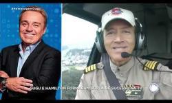 ASSISTA: Comandante Hamilton se emociona ao falar de Gugu