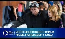 VÍDEO: Assistente de palco, Liminha se despede do amigo Gugu Liberato