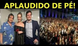 VÍDEO: Sérgio Moro é ovacionado em show de Roberto Carlos