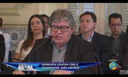 ASSISTA: Entrevista coletiva do governador João Azevêdo sobre a quebra de contratos com OS na saúde do Estado