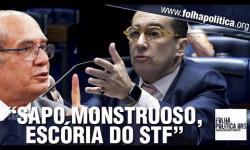 VÍDEO: Senador afirma que Ministro responsável pela Calvário no STF tinha jantares 'escondidos' com Aécio e o xinga de 'sapo monstruoso'