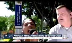 ASSISTA: Mulher invade link ao vivo e grita: 'a Globo é um lixo, o Bolsonaro tem razão'