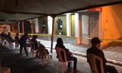 VÍDEO: Romero Rodrigues mostra dezenas de pessoas que vão dormir na fila da Caixa de CG