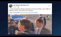 VÍDEO: Jair Bolsonaro diz que convite para churrasco era