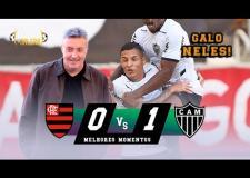 ASSISTA: Doménec estreia no comando do Flamengo com derrota para o Galo de Sampaoli