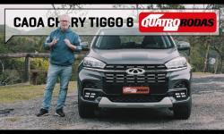 ASSISTA: Caoa Chery Tiggo 8: o SUV rival de Compass, Tiguan e Territory