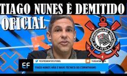 URGENTE: Corinthians demite Tiago Nunes