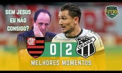 ASSISTA: Flamengo perde pro Ceará, torcida critica Ceni e pede perdão a Domènec
