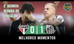 VÍDEO | Melhores Momentos - Com time reserva, Santos surpreende e vence o líder São Paulo no Morumbi