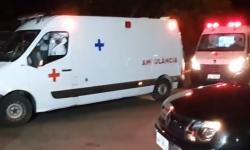 URGENTE: Ambulâncias chegam ao aeroporto Castro Pinto para transportar pacientes com covid-19 vindos de Manaus