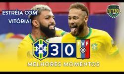 ASSISTA: Na estreia da Copa América, Brasil vence a desfalcada Venezuela | Melhores Momentos