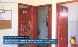 ASSISTA: TV Correio mostra situação de calamidade dos moradores da Ribeira, que reivindicam reativação de PSF abandonado em Santa Rita