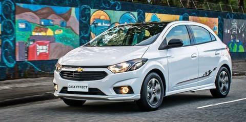 Chevrolet Onix é líder de vendas há 4 anos