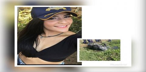 Jovem morre após caminhoneta capotar e cair dentro de riacho na Paraíba