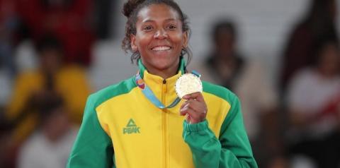 Judoca Rafaela Silva é suspensa por doping e fica fora da Olimpíada