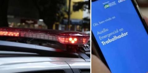 Jovem é presa após usar dinheiro do auxílio emergencial para fazer festa