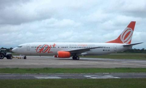 Avião arremete e pousa em Natal antes de retornar ao Castro Pinto