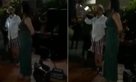 Traído realiza festa para anunciar que companheira tem amante famoso