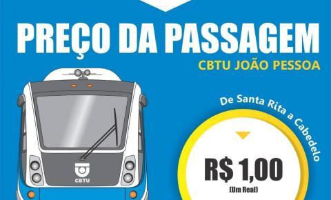Tarifa de trem/vlt será reajustada no próximo domingo