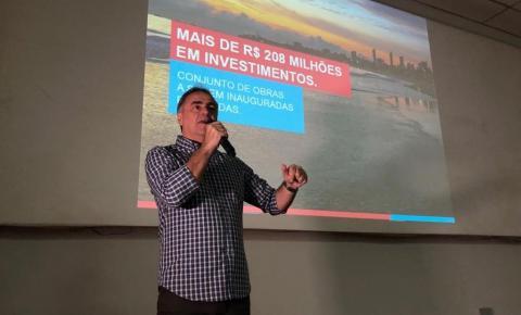 Luciano Cartaxo anuncia R$ 208 milhões em obras e ações para marcar os 434 anos de João Pessoa