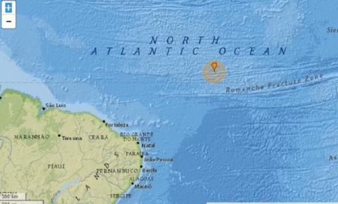Terremoto de magnitude 5.8 é registrado na região do Atlântico próxima do Nordeste e tsunami pode atingir Recife e cidades vizinhas