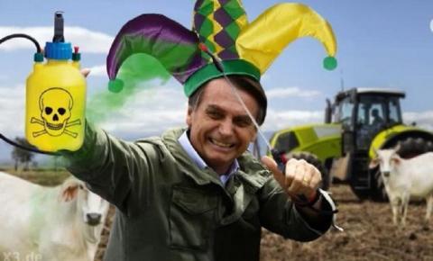 Bolsonaro vira bobo da corte e personagem de terror em programa humorístico da Alemanha