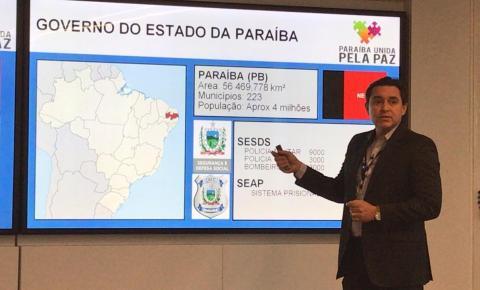 Secretário de Segurança fala sobre a experiência da Paraíba com tecnologia de rádio comunicação digital em Chicago