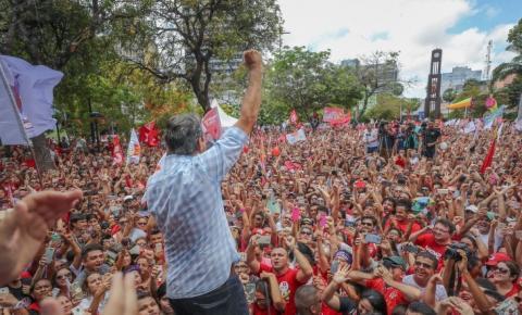 Site do PT nacional trata ato público de Monteiro em defesa da transposição como 'Caravana Lula Livre'