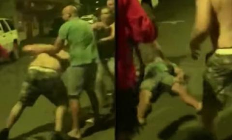 Ex-campeão do UFC vai a nocaute durante briga na rua; veja vídeo!