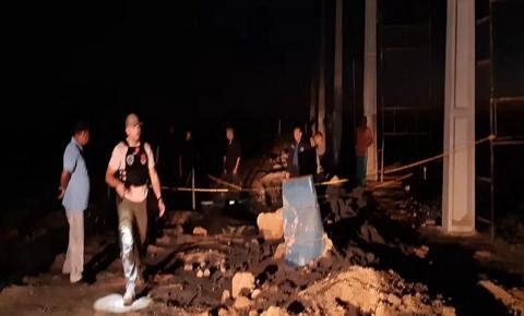 Trabalhador morre após despencar de andaime de mais de 8 metros de altura