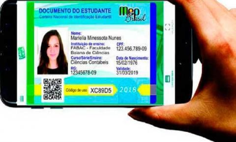ATENÇÃO: Carteira estudantil digital não vale para meia-passagem na Paraíba